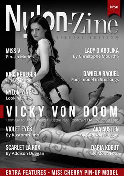 Nylon-Zine 50 cover Vicky Von Doom