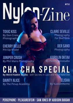 Nylon-Zine 51 cover Cha Cha Special