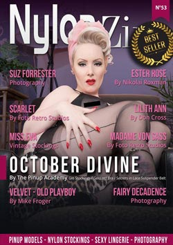 Nylon-Zine 53 cover October Divine Bestseller