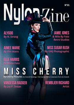 Nylon-Zine 55 cover Miss Cherry