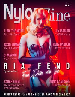 Nylon-Zine 56 English cover Ria Fend
