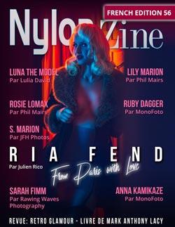 Nylon-Zine 56 FRENCH cover Ria Fend