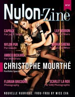 Nylon-Zine 57 FRENCH cover Christophe Mourthé