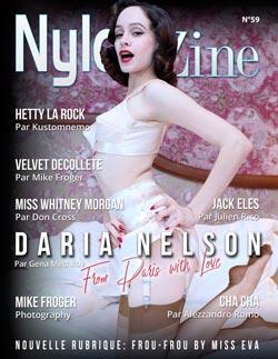 Nylon-Zine 59 French Edition - Daria Nelson by Gena Mechkov