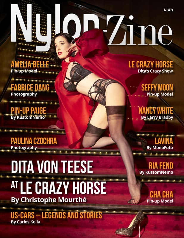 Nylon-Zine 49 Dita Von Teese by Christophe Mourthé