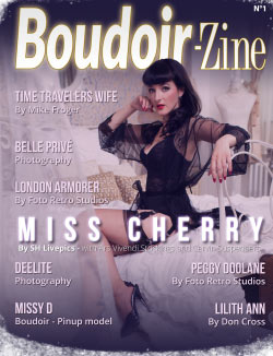 Boudoir-Zine 1 cover Miss Cherry