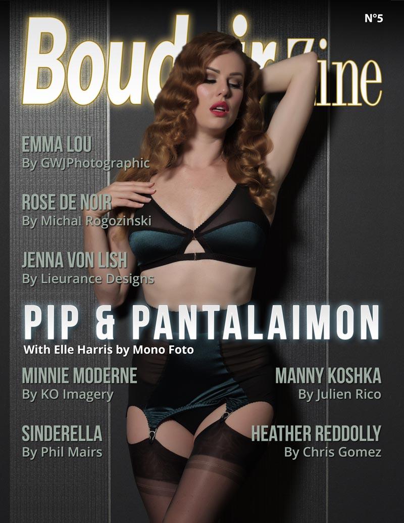 Boudoir-Zine 5 cover Pip & Pantalaimon
