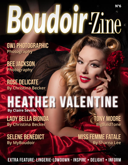 Boudoir-Zine 6 cover Heather Valentine
