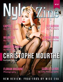 Nylon-Zine 57 English cover Christophe Mourthé