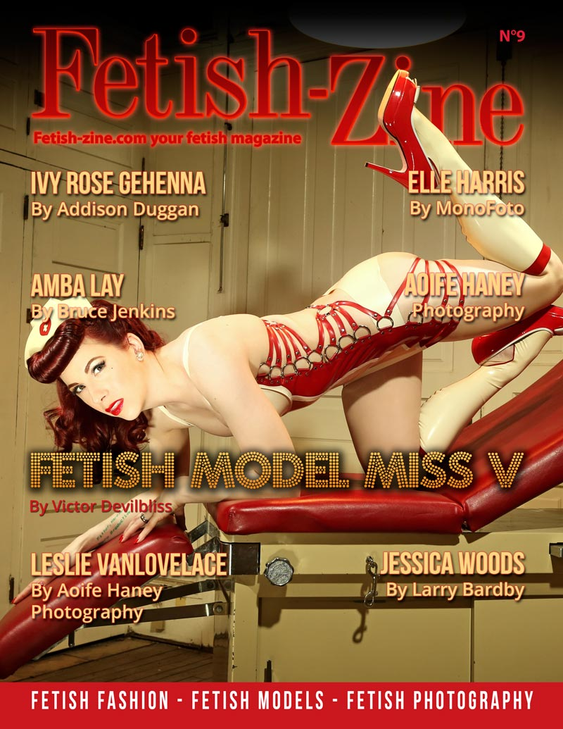 Fetish-Zine 9 cover Miss V
