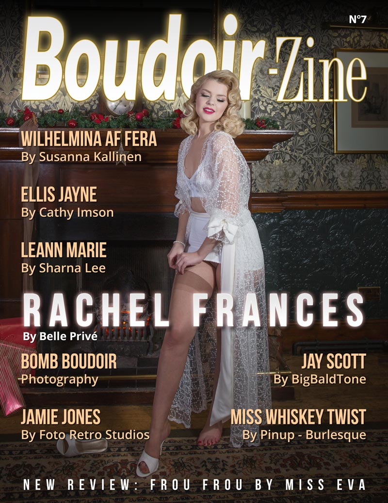 Boudoir-Zine 7 cover Rachel Frances by Belle Privé