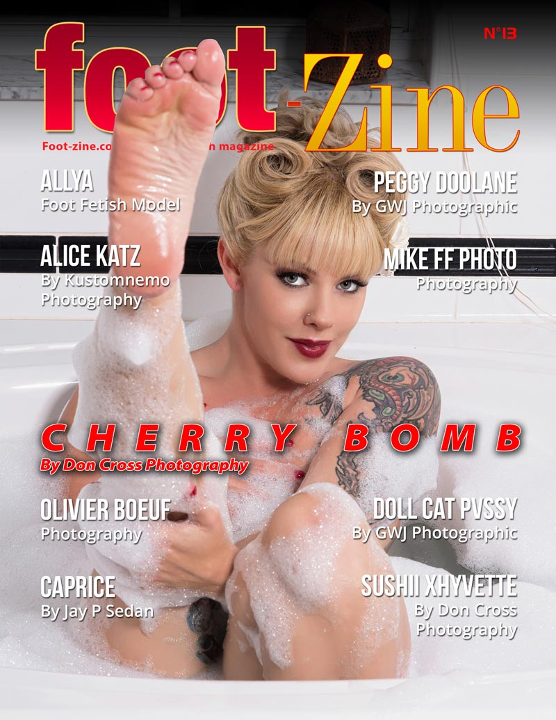 Foot-Zine 13 cover Cherry Bomb by Don Cross Photography