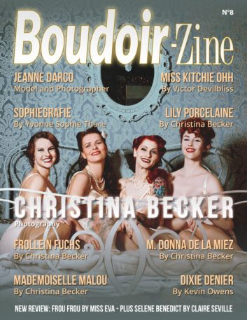 Boudoir-Zine 8 cover - Christina Becker