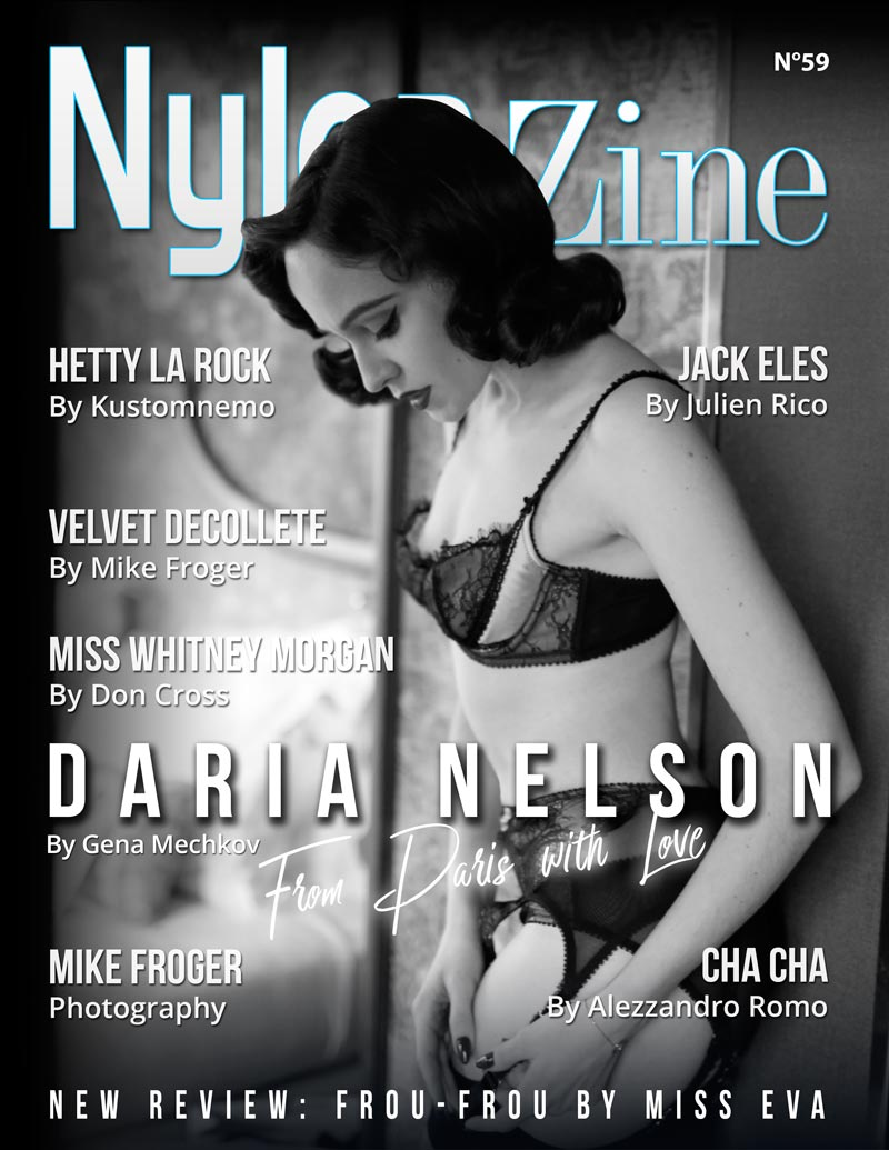 Nylon-Zine 59 English Edition - Daria Nelson by Gena Mechkov