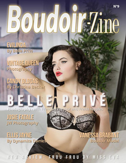 Boudoir-Zine 9 cover Belle Privé with French L'Amour