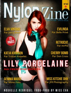 Nylon-Zine 60 cover Special Edition (French Edition) Lily Porcelaine by Christophe Mourthé