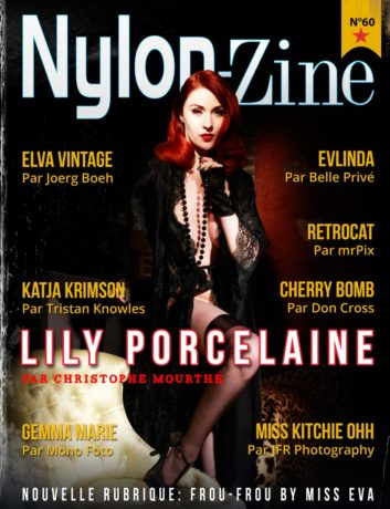 Nylon-Zine 60 cover (French Edition) Lily Porcelaine by Christophe Mourthé