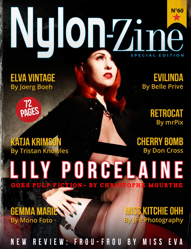 Nylon-Zine 60 cover Special Edition (English Edition) Lily Porcelaine by Christophe Mourthé