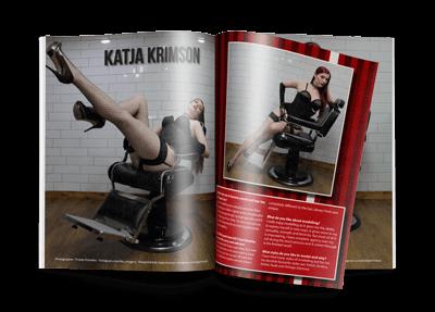 Nylon-Zine 60 preview Karja Krimson