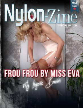 Nylon-Zine cover Frou Frou by Miss Eva special edition