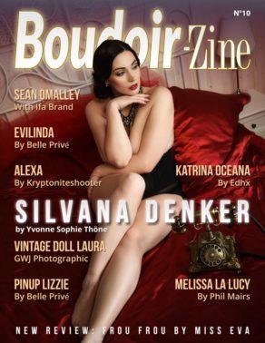 Boudoir-Zine 10 cover Silvana Denker by Yvonne Sophie Thöne