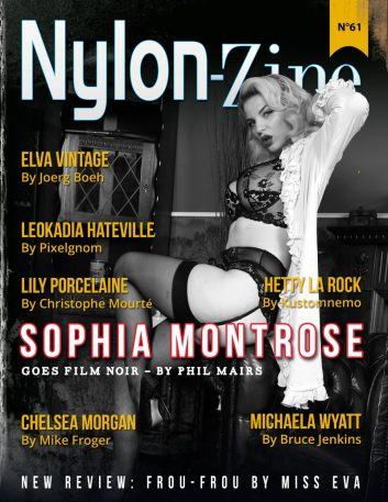 Nylon-Zine 61 cover Sophia Montrose by Phil Mairs