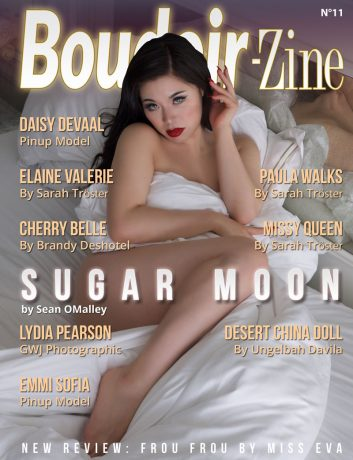 Boudoir-Zine 11 cover Sugar Moon by Sean OMalley