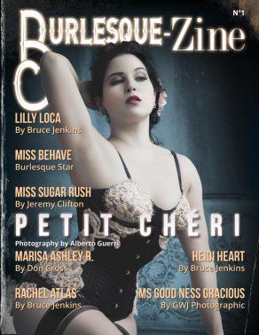 Burlesque-Zine 1 cover Petit Chéri by Alberto Guerri