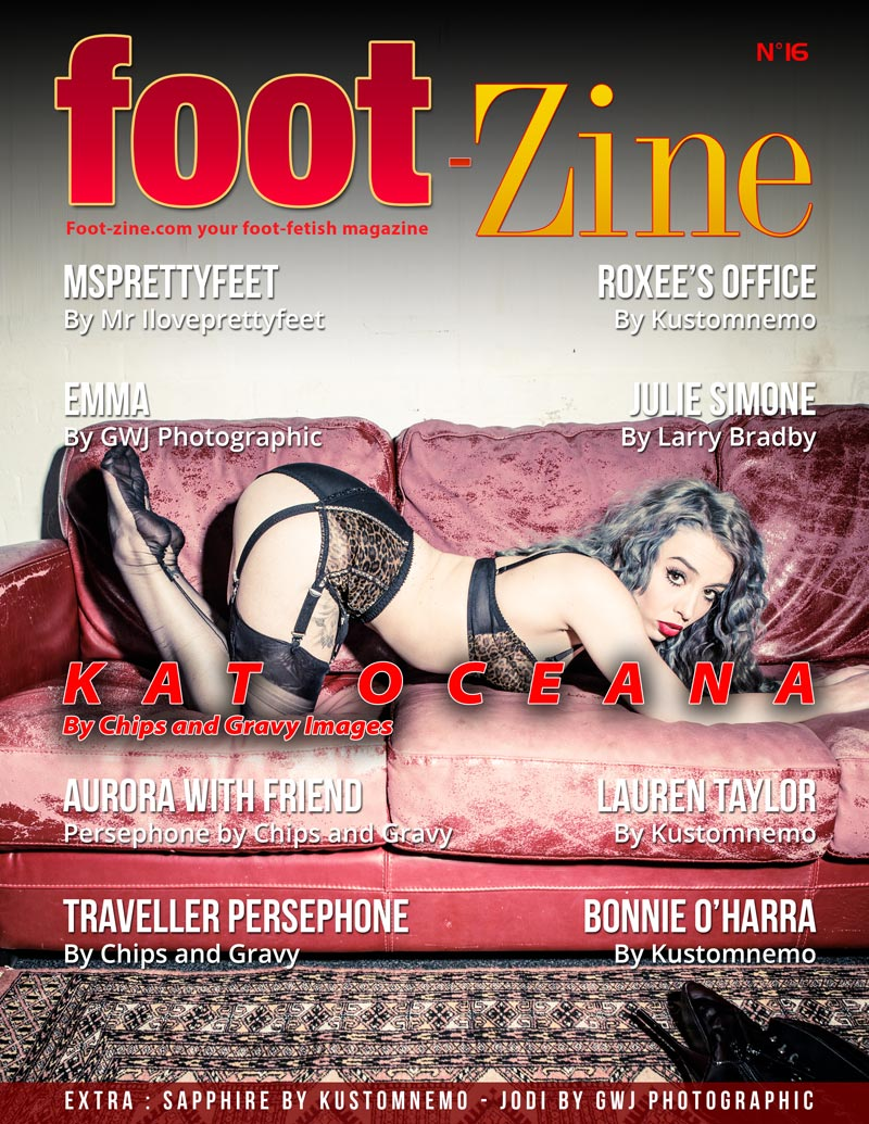 Foot-Zine 16 cover Kat Oceana by Chips and Gravy Images