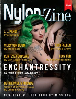 Nylon-Zine 63 cover Enchantressity by October Divine from The Pinup Academy