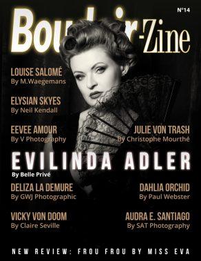 boudoir-zine 14 Evilinda Adlet by Belle Privé